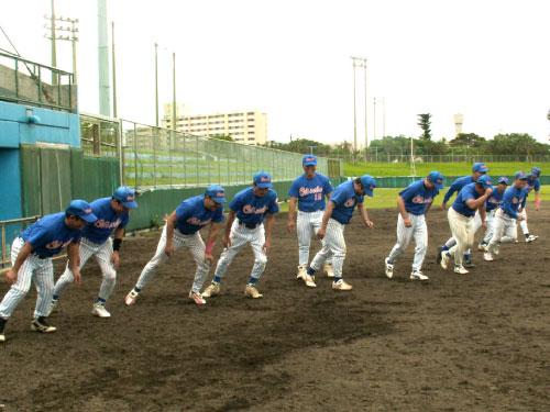 野球部の活動①